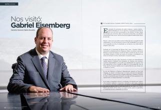 Retrato a Gabriel Eisemberg para revista Ekos