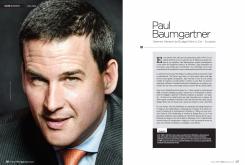 Retrato a Paul Baumgarter para revista EKOS