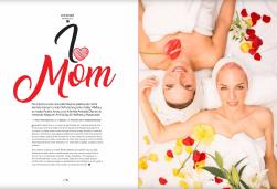 Fotografías a gabriela Villalba y su madre