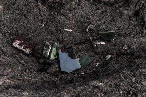 Los desechos son abandonados por doquier en las zonas marurales de las islas habitadas.